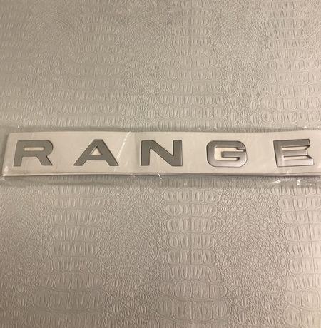 Надпись Range Rover
