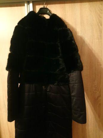 Шуба-пуховик норковый