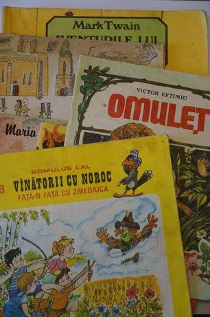 Lot 5 Carti vechi cu povesti vechi(ilustrate) pentru copii -