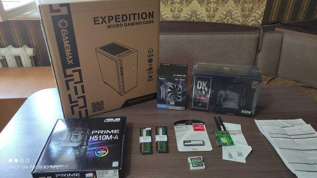 Совершенно новый, Core i5 10400f 10пок. Гарантия на комплектующие.