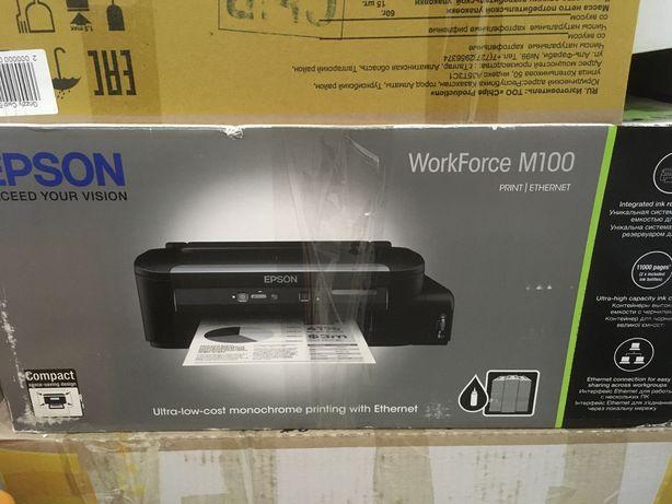 Принтер 3в1 epson workforce m100