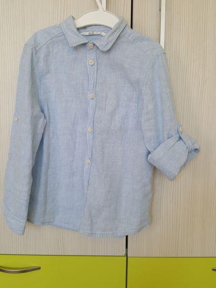 Ленена риза Hm размер 5-6 г.