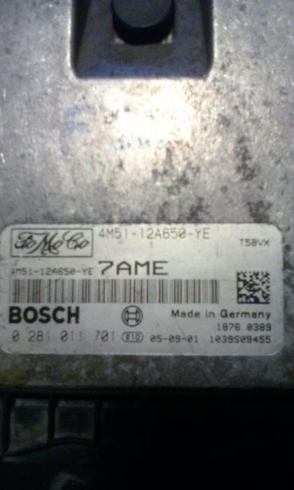 Calculator(ECU) Ford focus 2 diesel 109 CP 1,6 TDCI