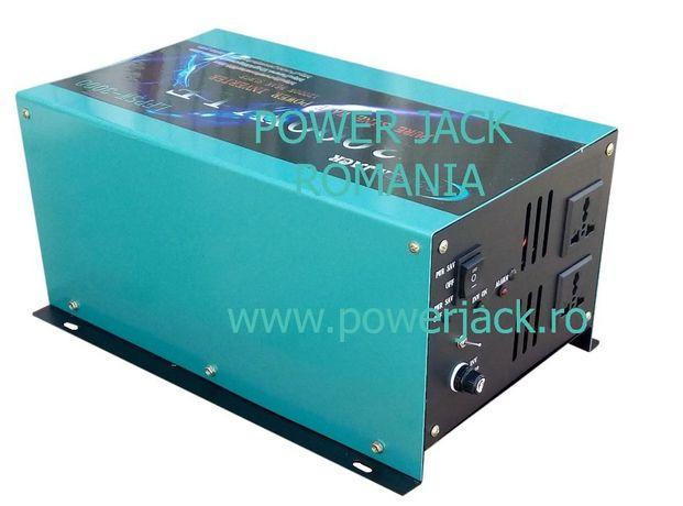 Invertor sinus pur 12v 3000W panouri fotovoltaice