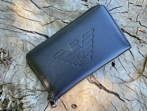 Мужской Портмоне GA. Armani портмоне кошелёк клатч .Отличный подарок.
