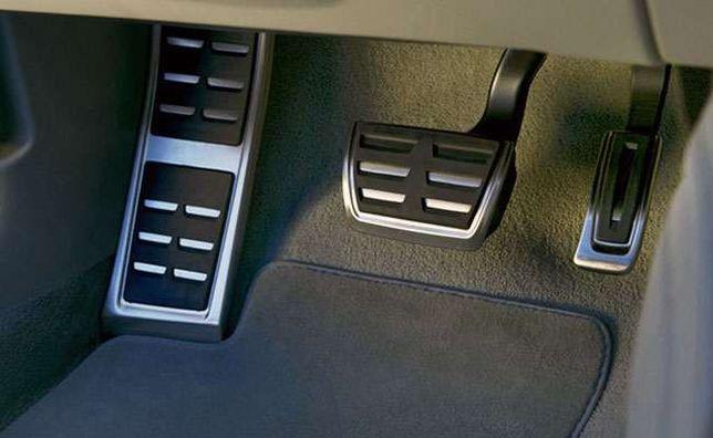 Ornamente INOX pedale si footrest S-Line - Audi A4 B8, A5 A6 A7 A8 Q5