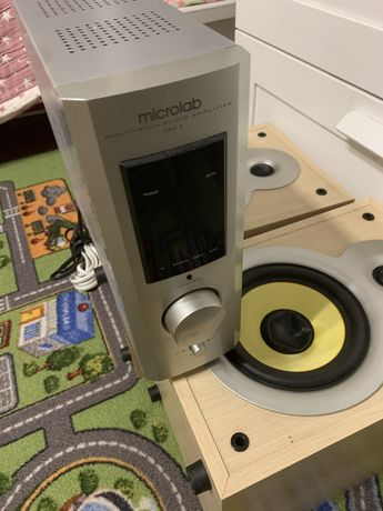 Активные колонки Microlab Pro 3