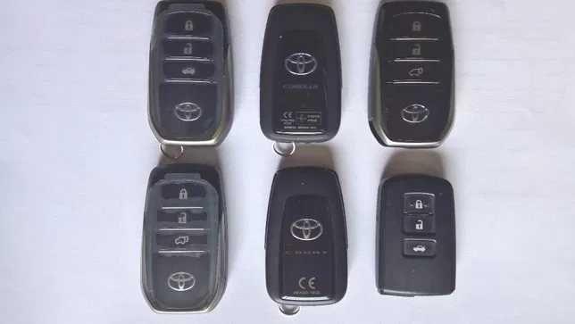 Смарт ключи Nissan Toyota Lexus BMW Chevrolet Kia Hyundai