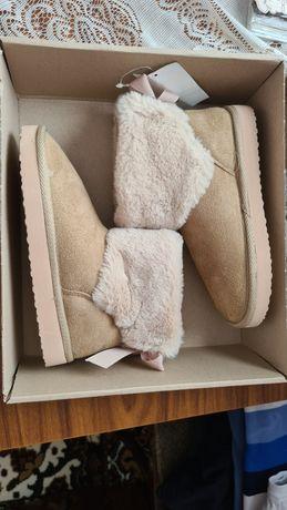 Papuci fete pentru iarnă