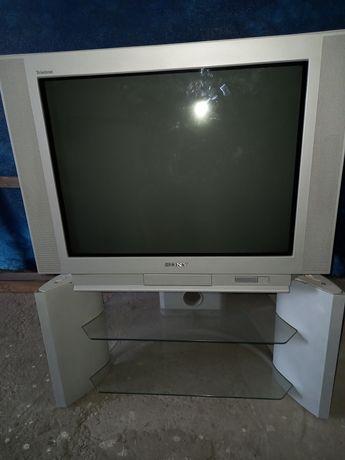 Продам телевизор Sony с тумбочкой .