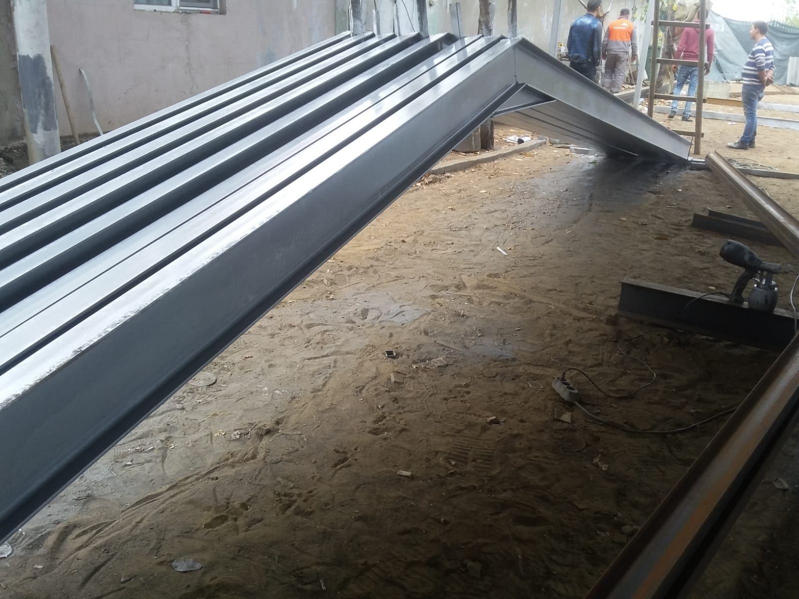 Vand hală metalica 11,75m×30m×3m