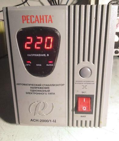 Продам стабилизатор напряжения сети РЕСАНТА