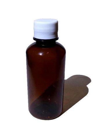 Set 100 flacoane 200ml sticle plastic ambalaj lichide sticlute brune