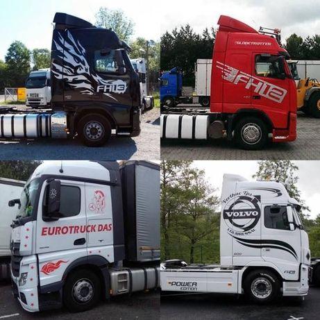 Autocolante/Stickere camioane - pret de producator!