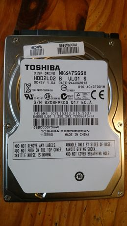 Хард диск за лаптоп 640 gb