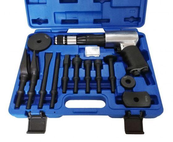 Професионален пневматичен чук с комплект инструменти –14 части