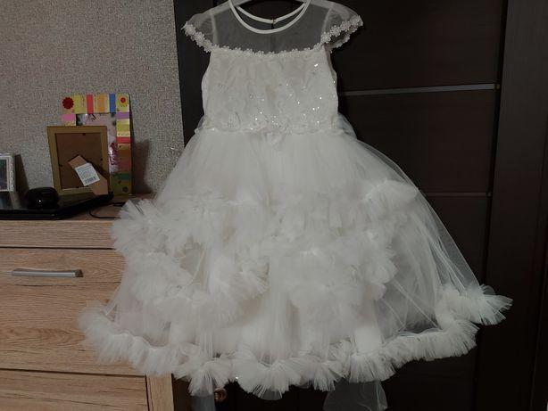 Платье детское б/у