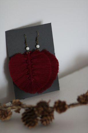 Cercei macrame - handmade