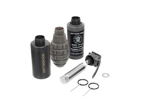 Звукова граната за еърсофт/airsoft/СО2 газ, Pouch, пълнители, ръкавици