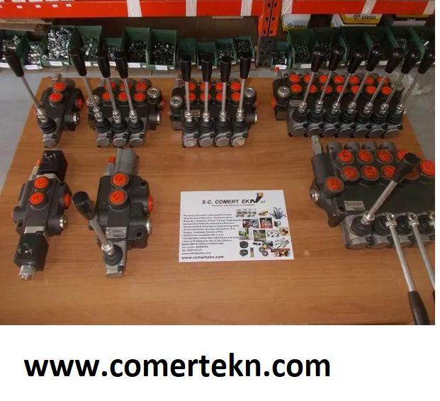 Distribuitor hidraulic distribuitoare hidraulice 40-80-120 litri Oradea - imagine 1