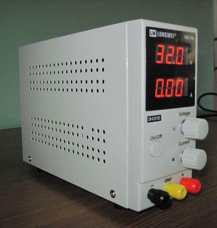 Sursa de tensiune reglabila pentru laborator / 0-32V / 0-10A