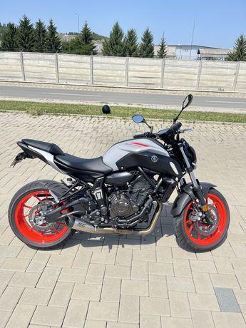 Yamaha MT 07 ICE FLUO
