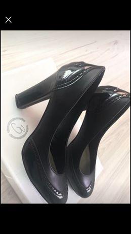 Vand papuci de piele Benvenuti mar 36