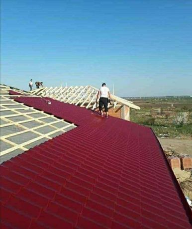 Reparații acoperișuri de urgență