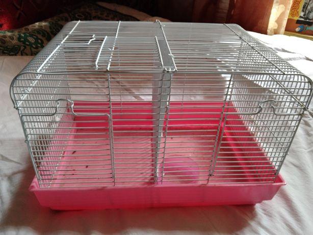 Клетка двойная для мелких грызунов