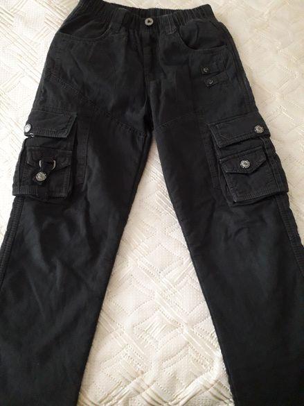 Дънки и зимен панталон р.146
