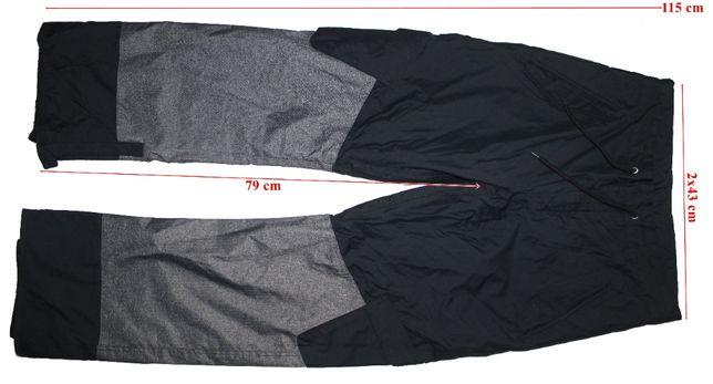 Pantaloni schi Rodeo White Series Plus 2000mm ventilatii barbati M