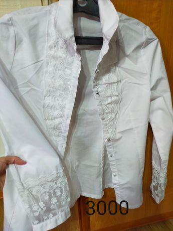 Школьные блузки, рубашки