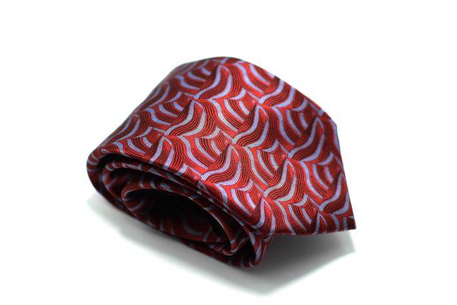Cravata Barbati Lanvin 8 x 152 cm Matase Rosie Roz CRR8