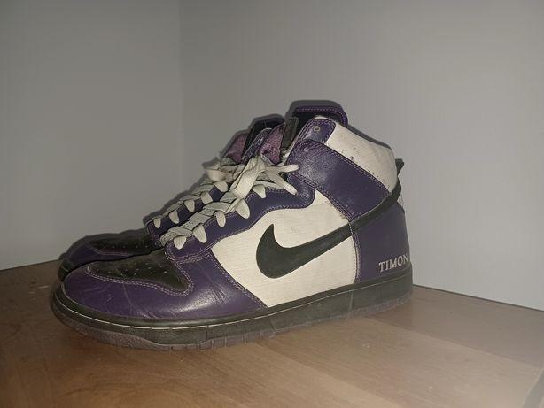 Nike dunk zoom court purple high
