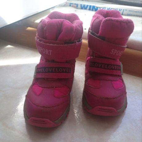 Обувь зима для девочек