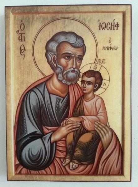 Икона на Свети Йосиф ikona Sveti Iosif гр. Пловдив - image 1