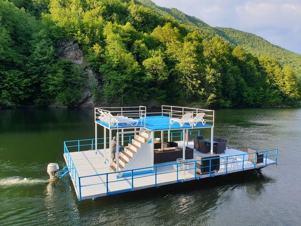 Inchiriez ponton, barcă, ambarcatiune,pe lacul Tarnita