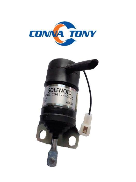 Solenoid opritor combustibil Kubota KX161-2 V2203 KX101 KX151