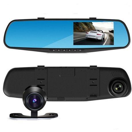 DVR камера за кола в огледало