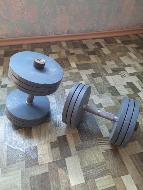 Гантели 2шт по 24 кг