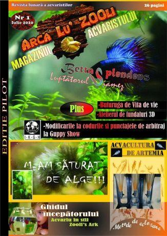 Revista de acvaristica Arca Lu Zooli in format electronic nr 1-2