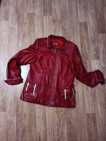 Куртка,кожа натуральная. Размер 48-50. Цена 10.000