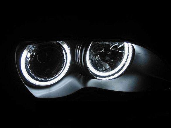 Ангелски очи Angel Eyes CCFL BMW E36 E38 E39 E46 Е87 Е83 Е60 Е53 Голф