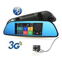 "Oglinda+GPS 7"" Waze+iGO Primo pentru Autoturism TMC+WiFi+modem 3G+VDR"