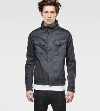 G-Star Raw Arc Chopper 3d Slim Jacket Slander Grey Superstretch