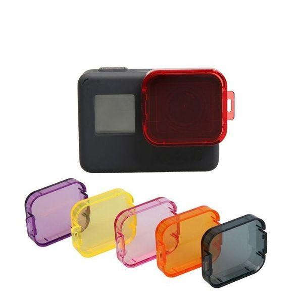 Комплект 6бр цветни филтри за подводно снимане за gopro hero 5/6/7 гр. София - image 1