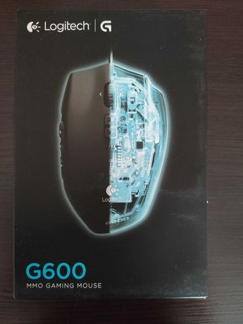 Продам игровую мышь Logitech G600