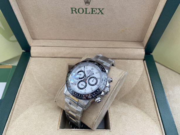 Rolex Daytona Cosmograph Ceramic Silver Steel, ETA4130 Chronograph