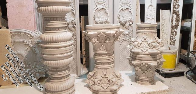 ornament fatada gips ipsos coloana 32 greceasca stalp stalpisori
