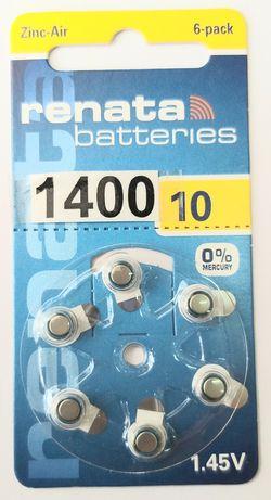 Батарейки 10. Для слухового аппарата.